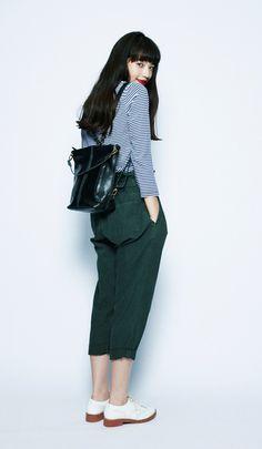 korean fashion trends which looks fabulous Korean Fashion Trends, Asian Fashion, Girl Fashion, Fashion Outfits, Fashion Design, Fashion Ideas, Japanese Models, Japanese Fashion, Vestidos Polo