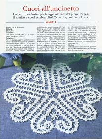 valentine and holiday gifts heart tableclothes, free crochet patterns Crochet Diy, Filet Crochet, Crochet Doily Patterns, Thread Crochet, Irish Crochet, Crochet Crafts, Crochet Doilies, Crochet Flowers, Crochet Projects