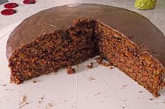 Zucchini Cake by Delicious Cake Recipes, Easy Cake Recipes, Yummy Cakes, Chef Cake, Easy Vanilla Cake Recipe, Zucchini Cake, Sweets Cake, Food Cakes, No Bake Desserts
