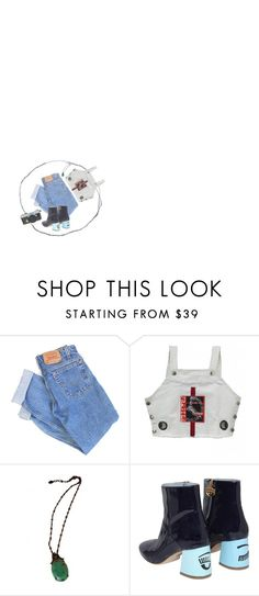 """chur bum"" by written-off ❤ liked on Polyvore featuring Levi's and Chiara Ferragni"