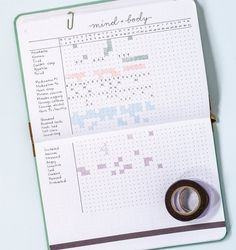 A Guide to Starting a Bullet Journal | Many bullet journalers use their journals to track their finances because there's essentially no limit to how you can illustrate and organize them. In the book, Wilkerson lays out several different trackers: a bill tracker for the year, a monthly budget tracker, a savings tracker, and a debt progress tracker. Each one comes with an illustration and a quick explanation of how they work—with a little bit of a pep talk added in, too.