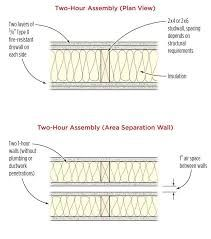 Image Result For 2 Hour Fire Rated Floor Ceiling Assembly Stud Walls Wood Studs Floor Ceiling