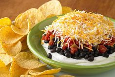 See how 4 ingredients become our Layered Black Bean Dip in 5 minutes in this quick video. It's perfect party fare for Cinco de Mayo—or cinco de any month!