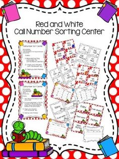 Help your students practice identifying the Easy (aka Everybody or Everyone), Fiction, and Nonfiction call numbers using this center. This center would be perfect for Valentine's Day, Read Across America, or even Christmas, but it is generic enough that you could use it all year long, too. $ on TpT