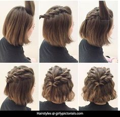 This idea of Hairstyles for short hair is simply fantastic. Girls with short hair need