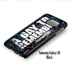 A Day To Remember for Samsung Galaxy S6, Samsung Galaxy S6 Edge Case