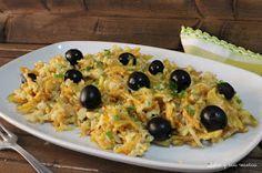 bacalao, patatas, revuelto de bacalao, huevos, Julia y sus recetas, pescado