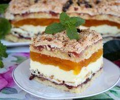 Pani Walewska z galaretką dyniową Tiramisu, Cheesecake, Cooking Recipes, Baking, Ethnic Recipes, Sweet, Desserts, Cakes, Food