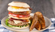 Stefano's Breakfast Burger