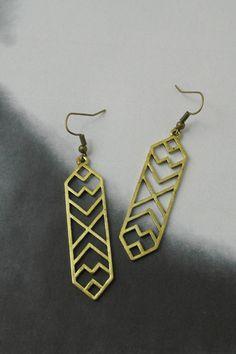 You Accessorize > Earrings Burnish > #E3216A − LAShowroom.com