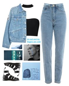 """i'm sad and my fingers are cold"" by solarxsystem ❤ liked on Polyvore featuring Étoile Isabel Marant and Dr. Martens"