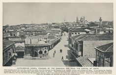 illustration Countries of the Old Photos, Vintage Photos, Heraklion, Old Maps, Crete, Countries Of The World, Time Travel, Paris Skyline, The Past