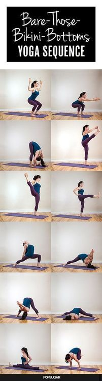 Bare Those Bikini Bottoms Yoga Sequence
