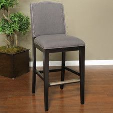 "Chase 30"" Bar Stool with Cushion (Set of 2)"