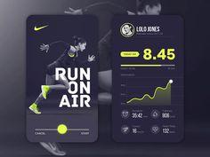 35 Running App UI Design for Inspiration - Smashfreakz