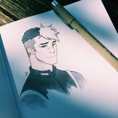 Can't believe it took me so long to draw Shiro (even if it's just a sketch). Another fav space dad :>