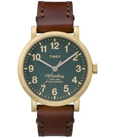 The Waterbury - Gold-Tone Case | Casual, Dress, and Sport Watches for Women & Men