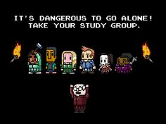 Take your study group!