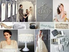Grey Wedding Palette - from Colour Meanings post