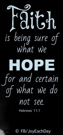 Hope quote via www.Facebook.com/JoyEachDay