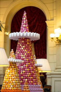 """The Ladurée Macron Smaller Christmas Trees at the InterContinental Paris Le Grand"", pinned by Ton van der Veer"