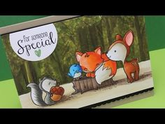 ▶ Forest critter scene with The Greeting Farm, ft Hex Chart - YouTube