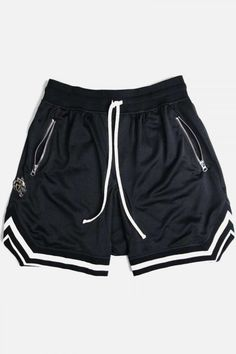NEW Boys Athletic Shorts Large 12-14 Silky Mesh Dark Gray Basketball Sports Gy