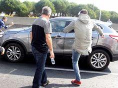 Taxistas que exploram clientes e agridem a concorrencia...