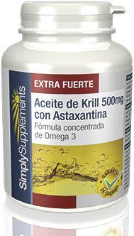 Aceite de Krill 500mg con Astaxantina - E391