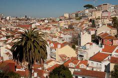 View of Rua Costa do Castelo, Lisbon