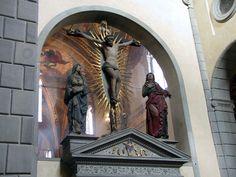 Certosa del Galluzzo - Firenze - Arte tedesca del XVII secolo - Gruppo della Crocifissione