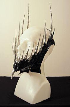 i kinda sorta _need_ this - chin spike mask   K.Nt