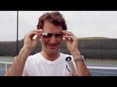 #Federer and #Edberg recently took Google Glass for a spin on the tennis court. Get a glimpse of what it's like to play like a tennis legend!
