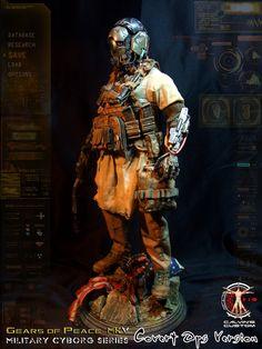 Calvin's Custom one sixth scale original design Gears of Peace MkV Military Cyborg Series: Covert Ops Version