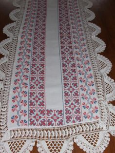 Polish Table Runner Vintage Handmade Table от MAChic на Etsy