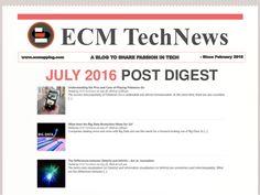 Ecm TechNews July 2016 Post Digest