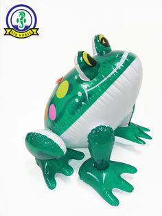 inflatable toy animal frog polka