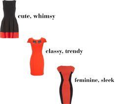 Orange dresses for fall... #fashion