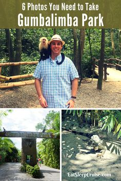 6 Photos to take Gumbalimba Park Roatan Honduras