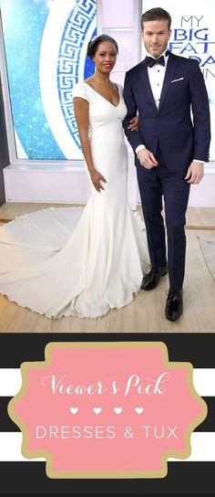 It s the TODAY Wedding day! See the winning dress 4e65a0a6a82