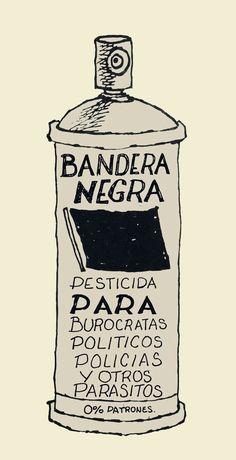 #Frase anarquista Arte Latina, Anarcho Communism, Arte Punk, Protest Art, Riot Grrrl, Flag Art, Political Art, Power To The People, Movie Posters