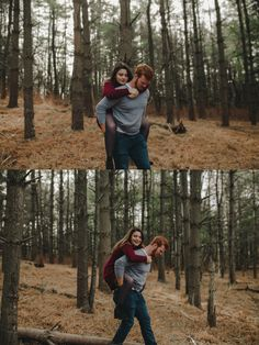 couple photography, engagement photography, forest, cute couple, couple pictures, kayleigh lockhart photography, winter photography, forehead kiss, love, kiss, cute, trees, vines
