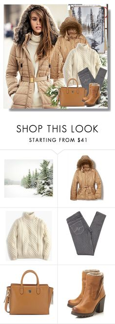 """Winter"" by rosely25 ❤ liked on Polyvore featuring Pottery Barn, MANGO, Balmain, New York & Company, J.Crew, AG Adriano Goldschmied, Tory Burch, Steve Madden, women's clothing and women's fashion"