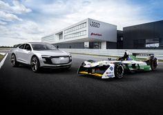 Audi Reveals New Formula E Racer, The E-Tron FE04