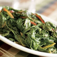 Use any seasonalcooking greens for this recipe, such as red or green chard, Russian kale, green kale, beet greens, or collards.