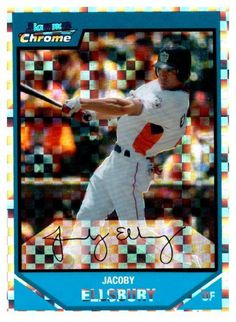 2007 Bowman Chrome Jacoby Ellsbury Rookie Xfractor #D/299 New York Yankees #NewYorkYankees