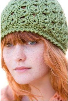 free Crochet hat pattern broomstick lace