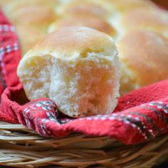 Fluffy, lite and delicious, homemade buttermilk dinner rolls. Photographed step by step.