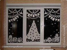 Картина панно рисунок Новый год Рождество Вырезание Пусть скорее приходит праздник Бумага фото 24