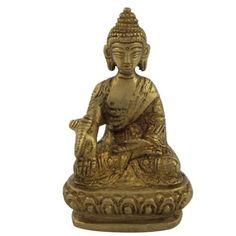 Amazon.com: Buddha Sculpture and Statue in Brass: Furniture & Decor